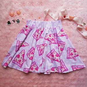 Pizza is my waifu Skirt