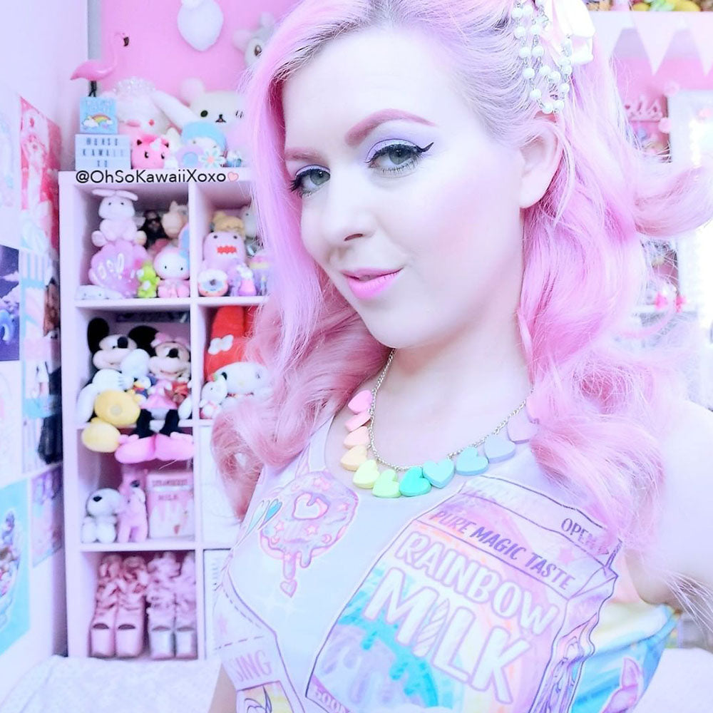 Rainbow Unicorn Milk Crop – Pink (in stock)