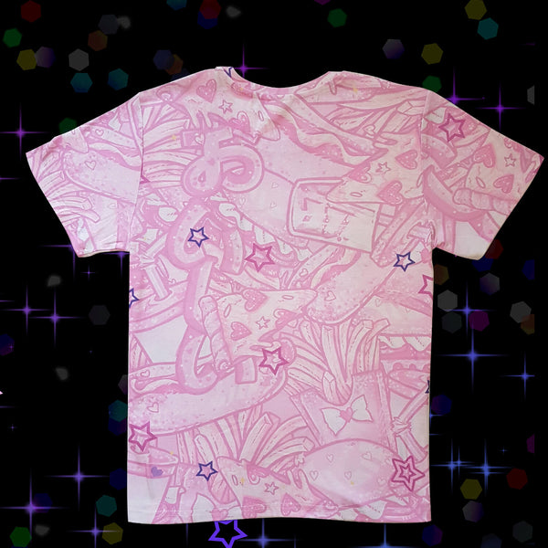 Magical BurGirl's Arsenal T-Shirt – Pink