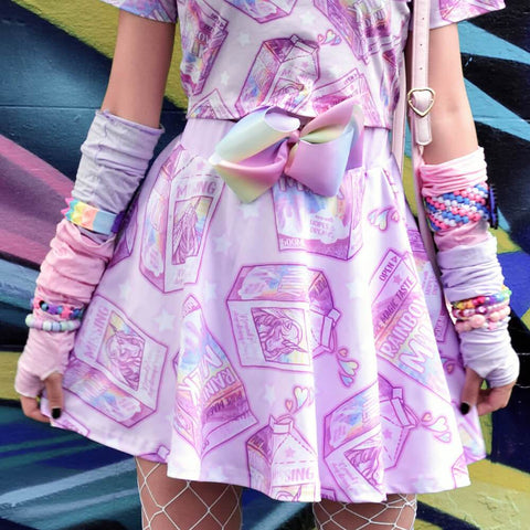 Unicorn Milk Box Skirt