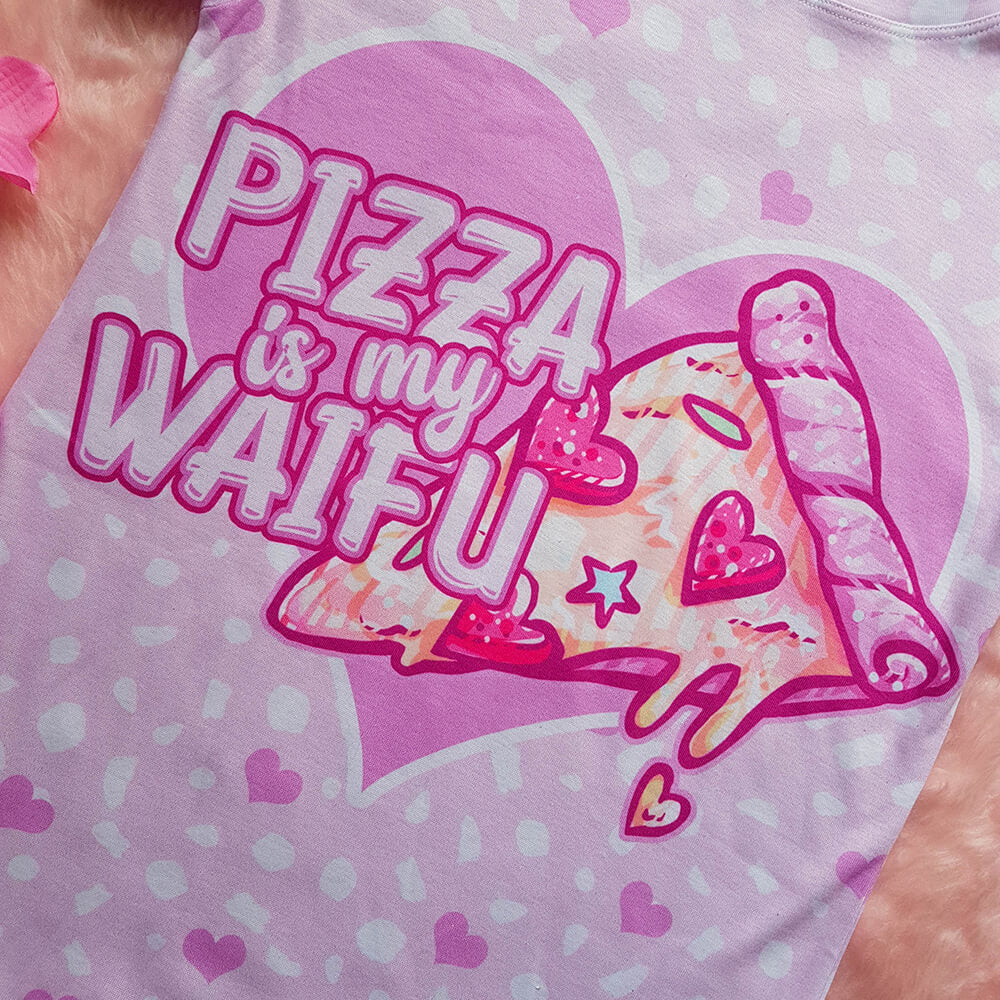 Pizza is my waifu Shirt
