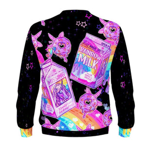 products/Rainbow_Unicorn_Milk_Donut_Kawaii_Black_Sweater_Back_-_Pastelaxy.jpg
