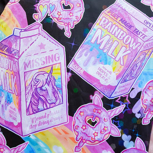 products/Rainbow_Unicorn_Milk_Donut_Kawaii_Black_T-Shirt_Closeup_-_Pastelaxy.jpg