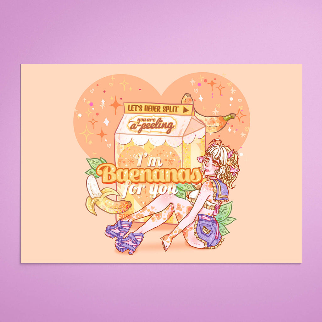 Flavwhored Milk Babes 3x Prints Bundle
