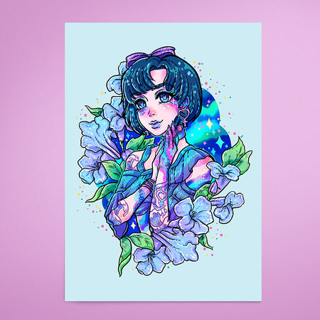 Sailor Mercury - Print