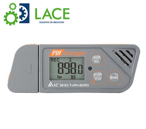 Data Logger USB/PDF Impermeable. AZ 88163