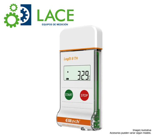 Data Logger Elitech LogEt8/TH (Sensor Interno) -30°C a 70°C