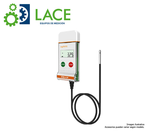 Data Logger Elitech LogEt8-TE/THE (Sensor Externo) -40°C a 85°C