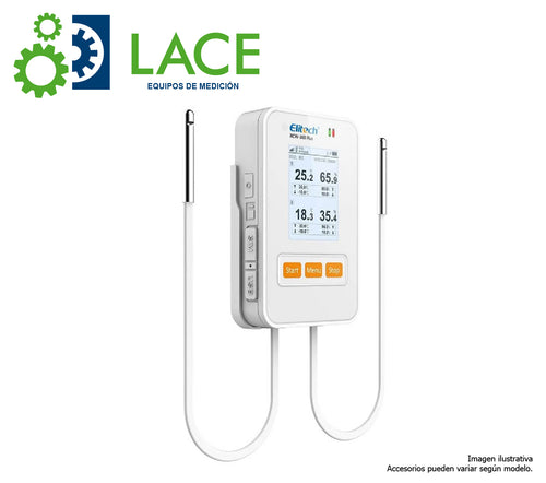 Data Logger Temperatura y Humedad Elitech RCW-360 Plus -20~60 °C
