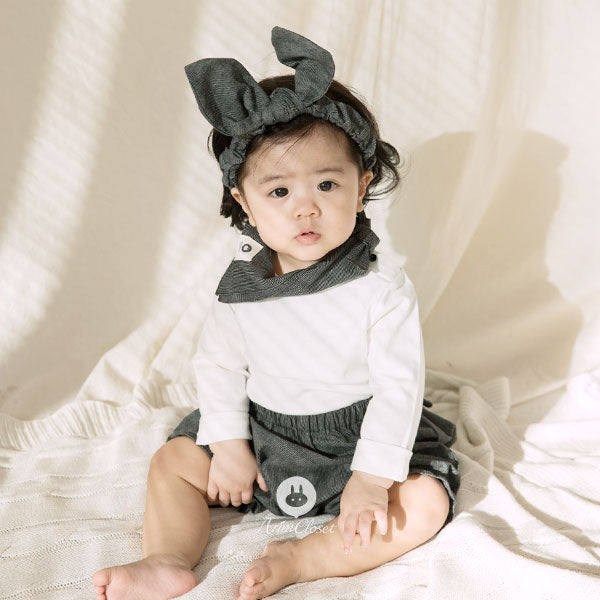 Indie Fashionista Bloomer - Iron Grey - Kiko Kids