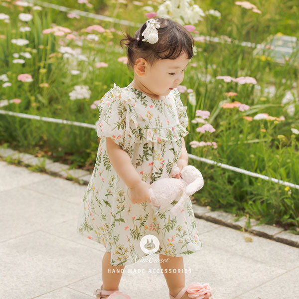 Flower Bunny Hairpin - Kiko Kids
