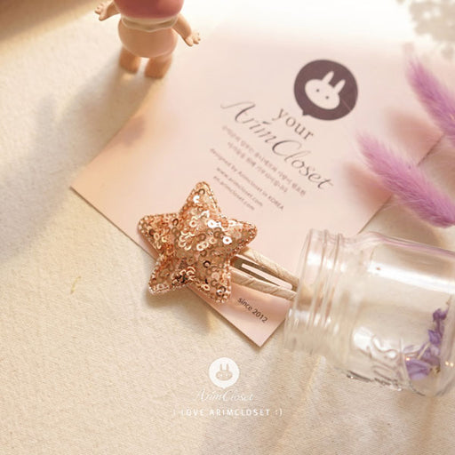 Shining Star Hairpin - Gold - Kiko Kids