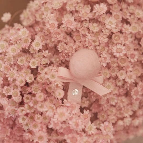 Sweet Candy Hairpin - Blush Pink - Kiko Kids