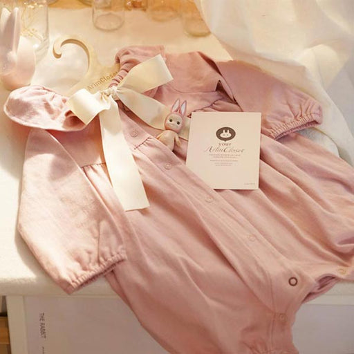 Strawberries and Cream Bodysuit - Pink - Kiko Kids