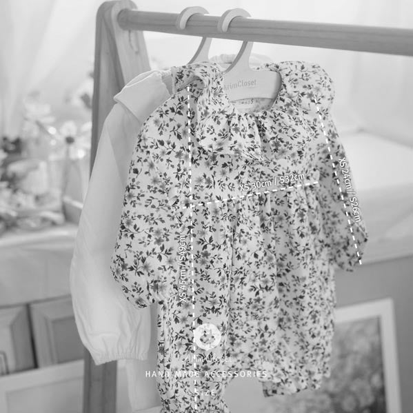 Flower Power Bodysuit - Kiko Kids