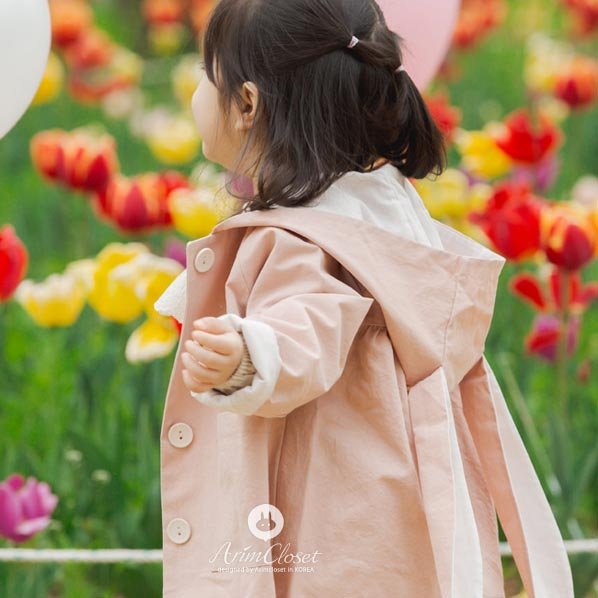 Happy Bunny Jacket - Kiko Kids