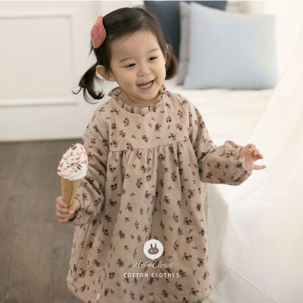 Her Majesty's Flowers Dress - Kiko Kids