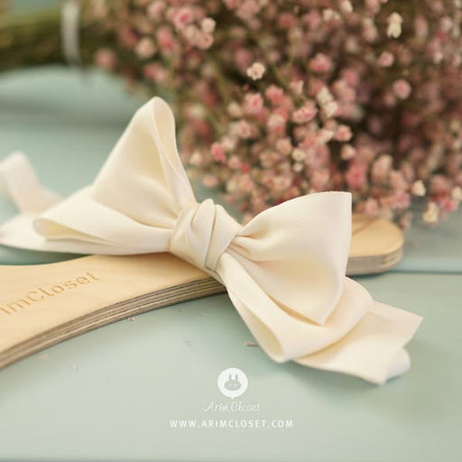 My Cream Bow Headband - Kiko Kids