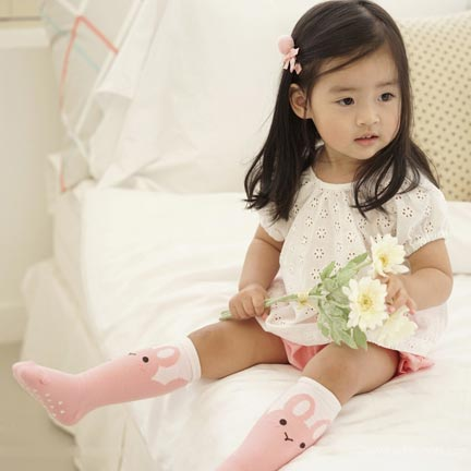 Small Bunny Feet Knee Socks - Kiko Kids