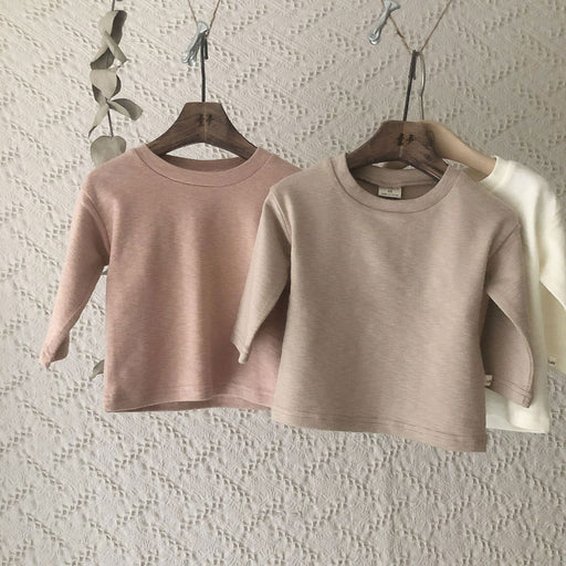 Top-Down T-Shirt - Peach Pink - Kiko Kids
