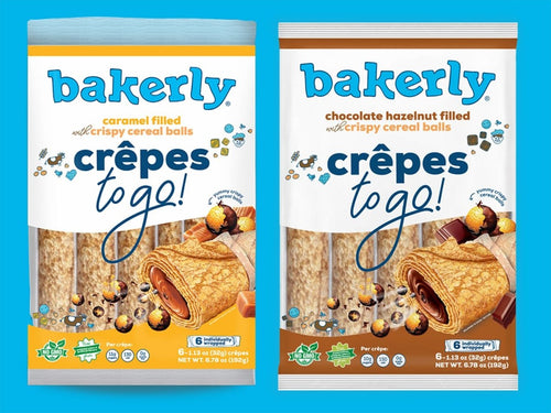 bakerly unleashes new crunchy crêpes flavors