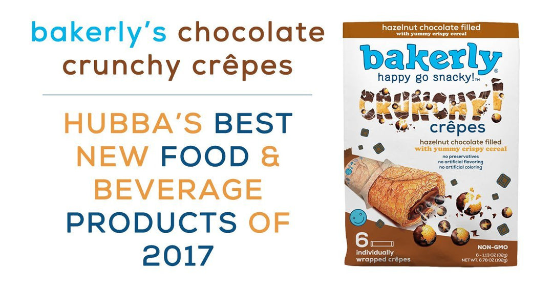 bakerly's chocolate crunchy crêpes earns best of 2017 honors