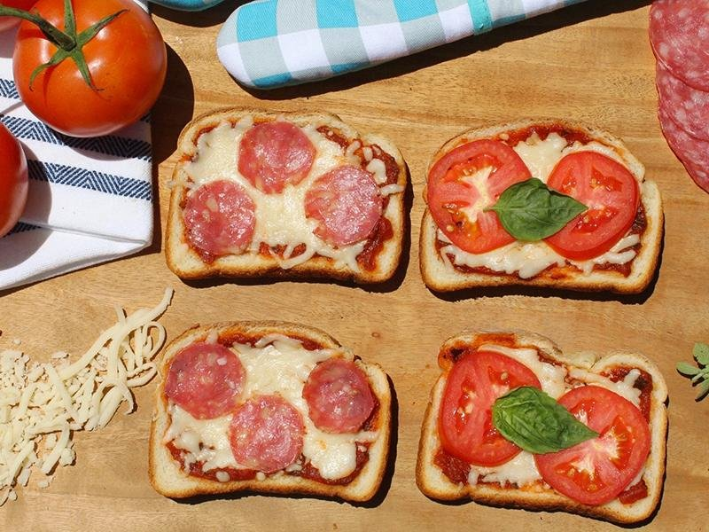what is a pizza brioche open sandwich and how to make one?