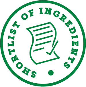 shortlist of ingredients