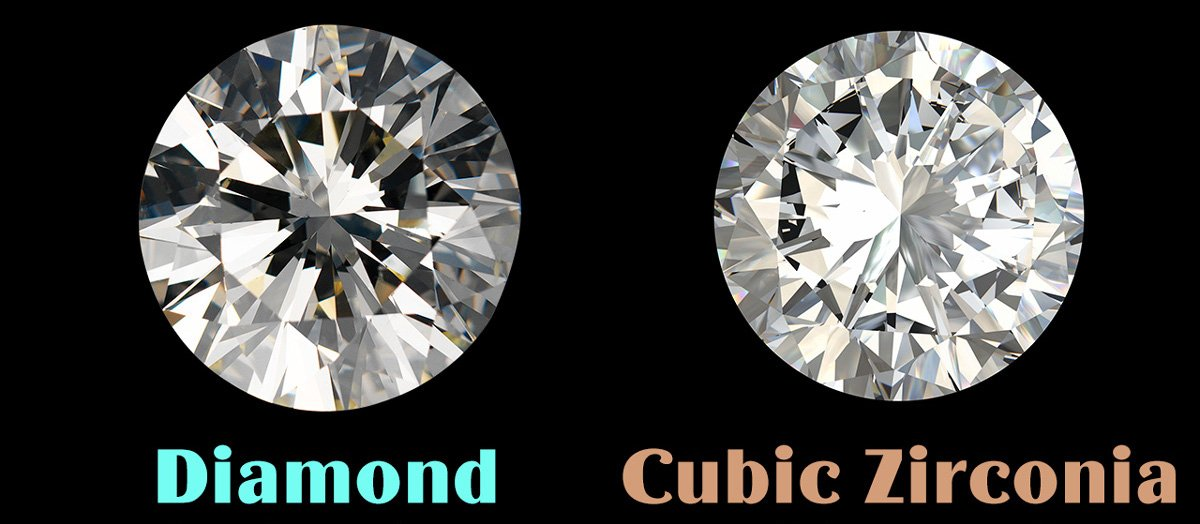 Difference Between Diamond and CZ Cubic Zirconia?