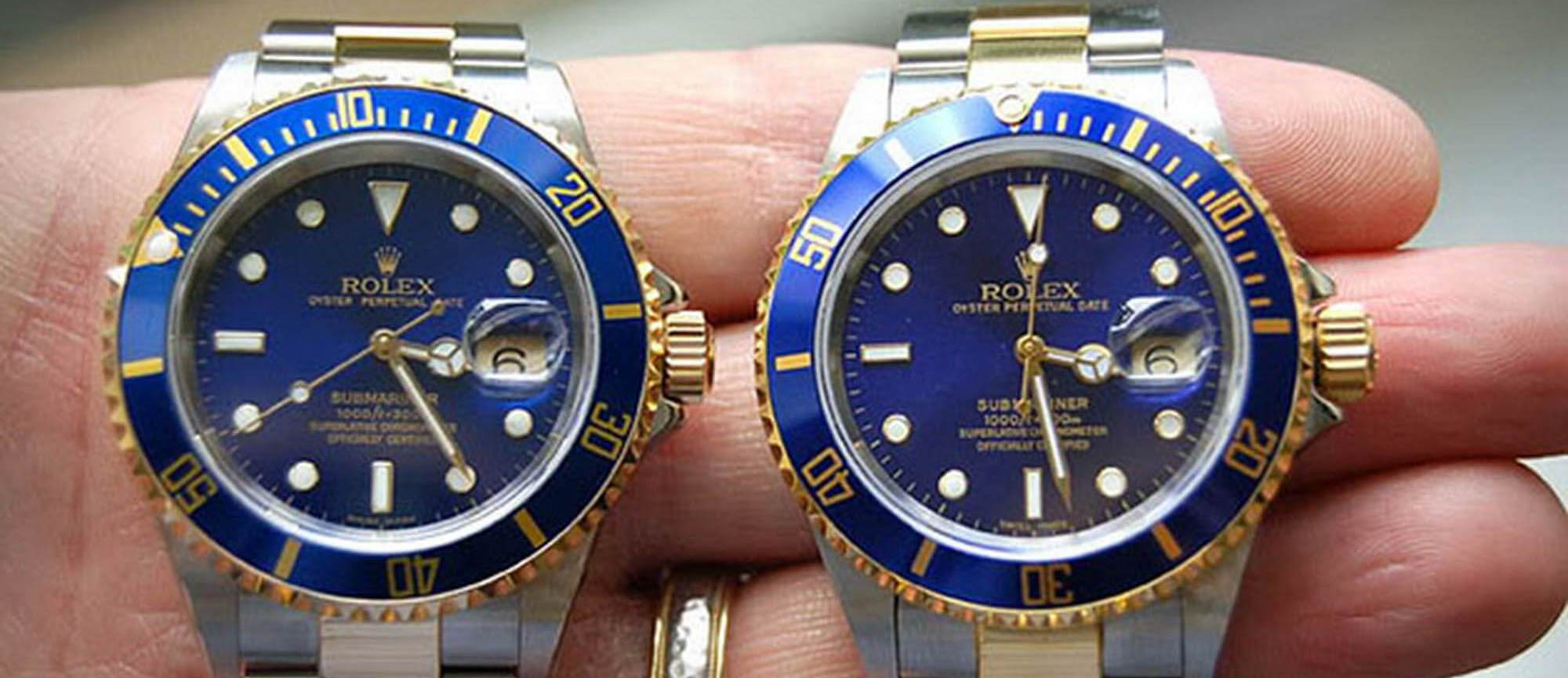 How to Tell Between a Real & Fake Rolex