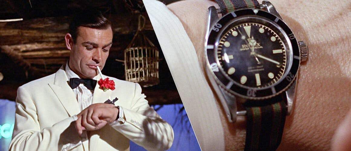 Movie Watches: James Bond and his Rolex Submariner