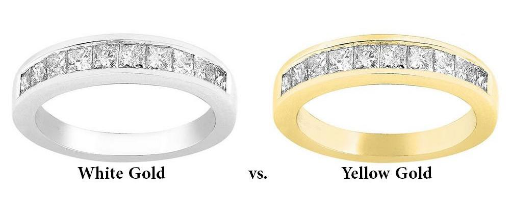 White Gold or Yellow Gold – Which Should You Buy?
