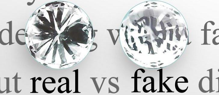 Differences Between Fake and Real Diamonds
