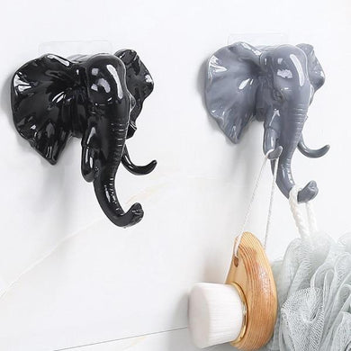 Elephant Head Hook
