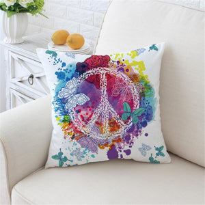 Colorful Printed Pillow Case