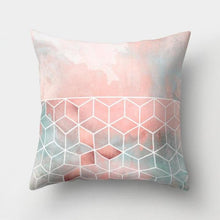 Load image into Gallery viewer, Geometric Pillow Case