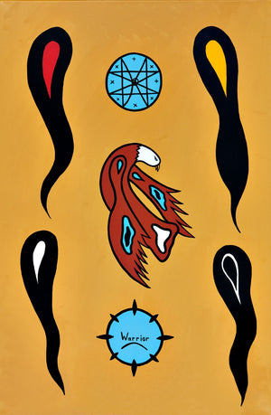 Bedford's Sacred Ground, print by Mi'kmaq Artist Lorne Julien