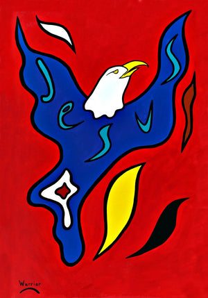 Jesus to the Nations, print by Mi'kmaq Artist Lorne Julien