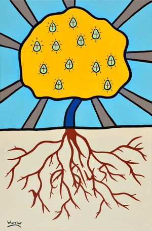 Tree of Life, print by Mi'kmaq Artist Lorne Julien
