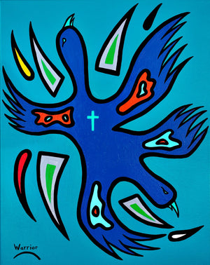 Untitled #5, print by Mi'kmaq Artist Lorne Julien