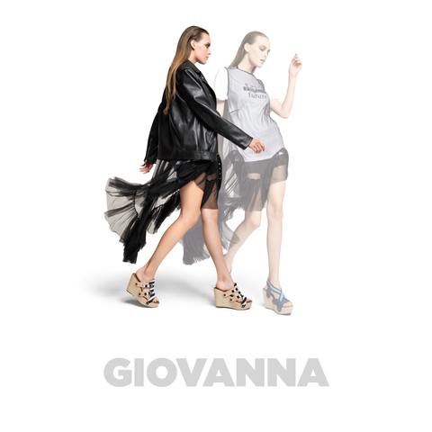 Giovanna is a diva and wants to have fun. Wear these sandals with anything from your waredrobe and bring your clothes to alive. Limited stock. You can pair the Giovanna straps with other  soles too!