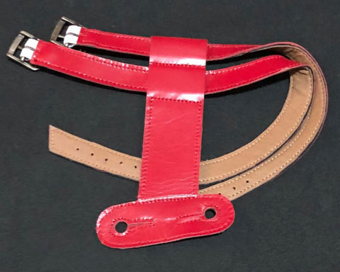 BIANCA BI03 Red (Strap ONLY) LUXE Leather