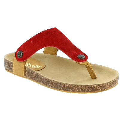 GABRIELA GB01 Red Suede (Strap ONLY) LUXE Leather