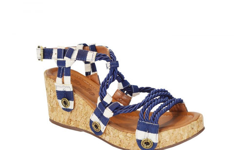 DANNI DA32 Navy Fabric (Strap ONLY)