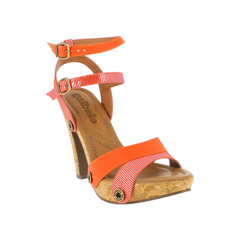 DEISE DE24 Smooth Fiesta/Ata Orange (Straps ONLY)