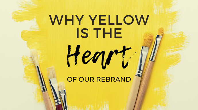 Why Yellow is the Heart of Our Rebrand