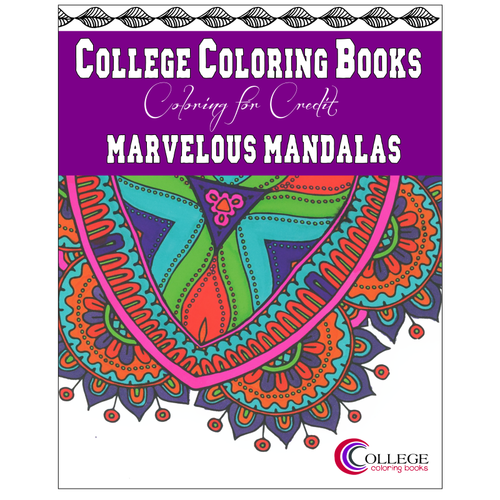 Marvelous Mandalas Adult Coloring Book-Craft and Color Co