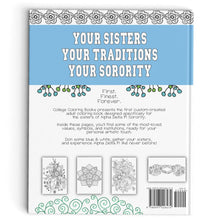 Alpha Delta Pi Coloring Book