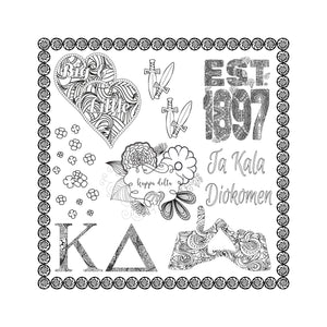 Kappa Delta Coloring Book