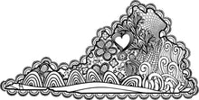 I Heart Virginia Harrisonburg Coloring Page